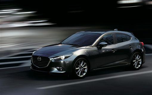 2019年式Mazda3。(圖/Mazda提供)
