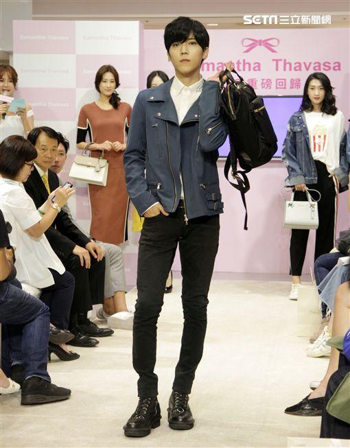 畢書盡擔任日系精品品牌開幕大使。(記者邱榮吉/攝影)