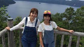 民視外景節目《Go Go Taiwan》主持人段慧琳與王瑋瑜 圖/民視提供