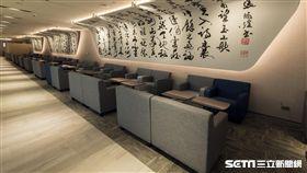 華航,第二航廈貴賓室,書法家,張炳煌,/華航提供
