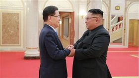 韓美國安首長通電 可能轉傳金正恩口信給川普(圖/翻攝自@1380Ay 推特)
