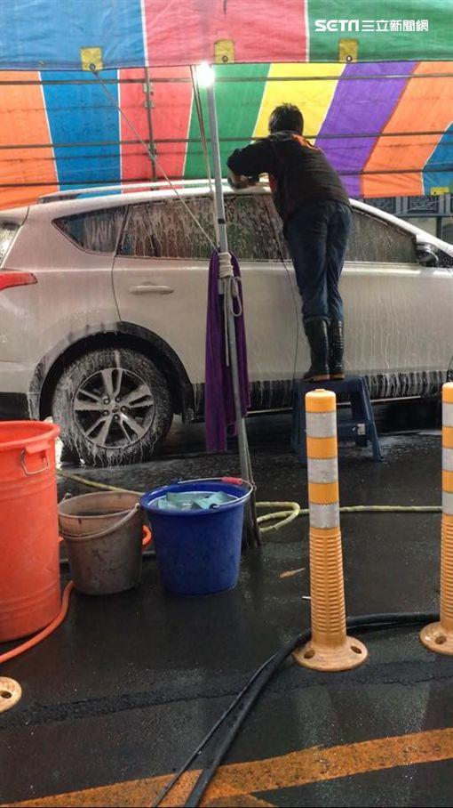 百元洗車,手工洗車