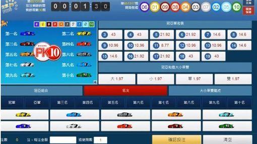 桃園,刑事局,北京賽車,賭博,毒品危害防制條例。翻攝畫面