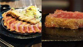 日本超夯炸牛排這裡也有 份量超驚人
