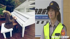 台中正妹女警廖于嬅/翻攝自女警臉書