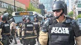 美國,犯罪率,調查,FBI,統計,謀殺,搶劫 圖/翻攝自太陽報