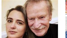 俄羅斯87歲男星不滿嫩妻拒絕行房,宣布離婚。(圖/翻攝自都會報)