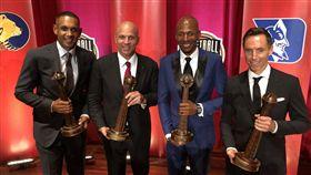 Grant Hill、Jason Kidd、Ray Allen、Steve Nash,名人堂(圖/取自NBA官方推特)