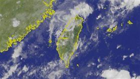 山竹,颱風,熱帶低壓,雷陣雨,/中央氣象局