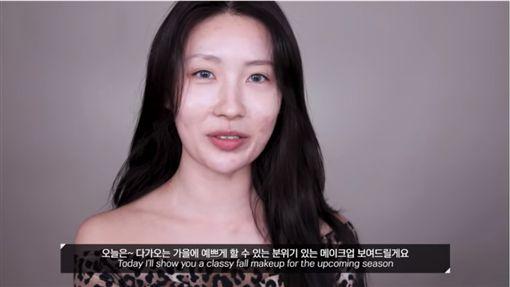 靠「逆天化妝術」吸粉!韓美妝YouTuber月薪破百萬(圖/翻攝Risabae YouTube)