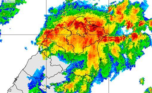 豪雨特報,暴雨,淹水,豪雨