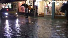 基隆路,暴雨,基隆河,淹水