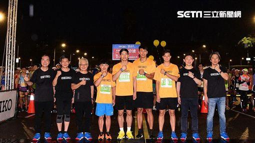▲Seiko城市路跑運動大使參加3K組。(圖/記者林辰彥攝影)