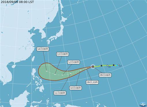 山竹颱風,強颱,颱風,山竹