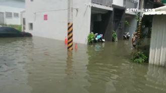 雨下20分鐘竟淹水 立委控人為因素