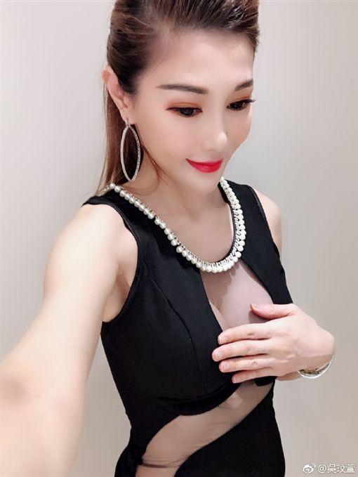 吳玟萱(圖/翻攝自微博)