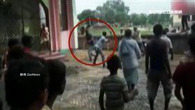 法治難提升!印3男闖校園綁架女童 慘遭暴民「私刑」打死 SOT 印度,私刑,綁架