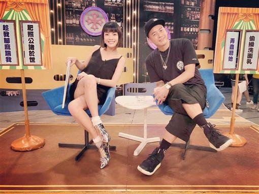 白勝吉、徐小可上節目透露兩人互整趣事。(圖/翻攝自臉書)