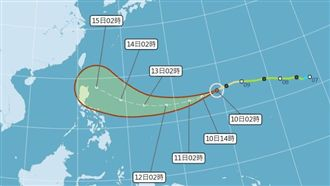 山竹估明轉強颱 路徑若偏北威脅越大