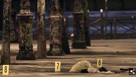 巴黎爆砍人攻擊 傳至少7人受傷(圖/翻攝自每日郵報)