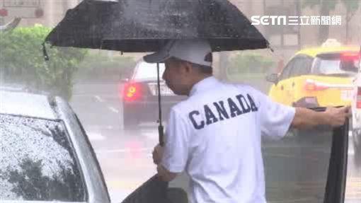 下雨、撐傘、雨天、暴雨