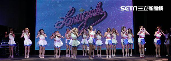 「LamiGirls」2018全新單曲 Love Me More 新歌發表。(記者邱榮吉/攝影)