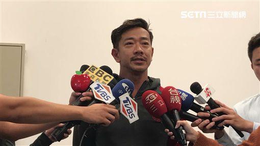 江俊翰召開記者會為吸毒道歉/民視提供