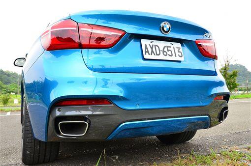 BMW X6 M Sport Edition。(圖/鍾釗榛攝影)