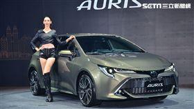 Toyota Auris。(圖/鍾釗榛攝影)