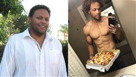減重,速食,卡路里,食物,漢堡,披薩,健康,飲食,肌肉,計算 圖/翻攝自IG