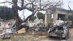 索馬利亞首都摩加迪休(Mogadishu)遭青年黨攻擊釀6死16傷(圖/翻攝自推特)