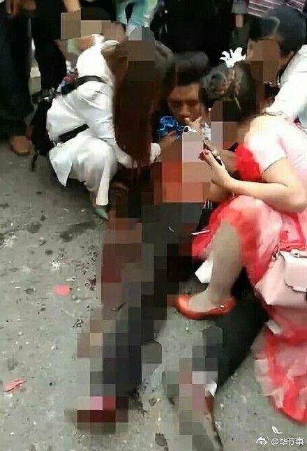 大陸山歌歌手陳俊,在商演過程中遭殺害。(圖/翻攝自微博)