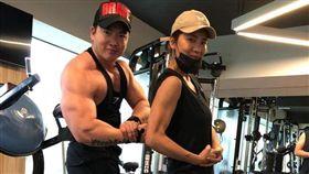 犀利人妻,李沛旭,小禎,健身,運動(圖/翻攝自臉書)
