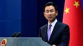 中國外交部發言人耿爽9月10日主持例行記者會,翻攝自中國外交部網站