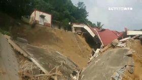 左鎮路還坍1800