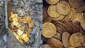 歷史,考古,金幣,義大利,羅馬,地下室,石甕,黃金,挖掘 圖/翻攝自Mibac臉書 https://goo.gl/JRvJX8