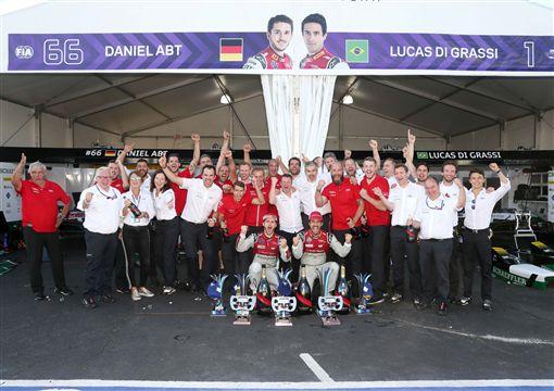 Audi勇奪Formula E賽季總冠軍。(圖/Audi提供)