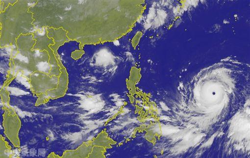 山竹颱風/中央氣象局官網