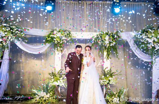 艾熱剛結婚(圖/微博)
