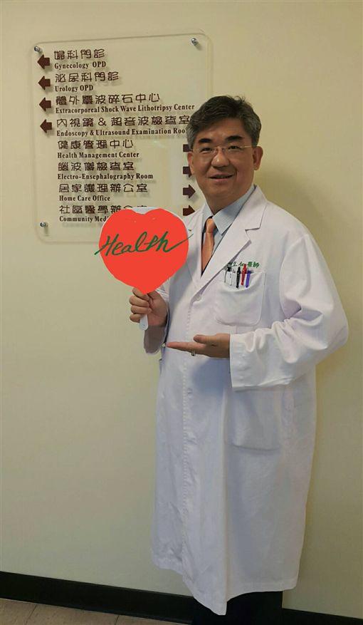 位在基隆台灣礦工醫院院長 劉立仁院長