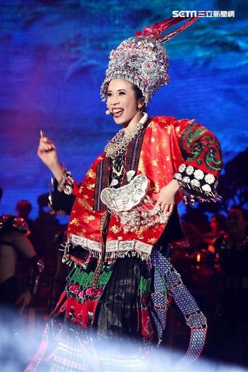 莫文蔚「絕色莫文蔚25週年世界巡迴演唱會」貴陽站圖/索尼音樂提供