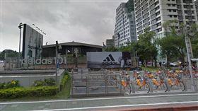 全台最貴籃球場,幸福人壽掏空案,信義區 圖/翻攝自Google地圖