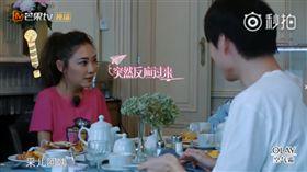 應采兒,妻子的浪漫旅行,魏大勛/翻攝自《妻子的浪漫旅行》官方微博