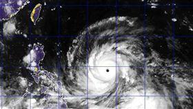 山竹,颱風,強颱,/翻攝自觀氣象看天氣臉書