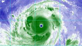 山竹,強颱,颱風,/翻攝自觀氣象看天氣臉書