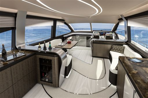 Lexus LY 650豪華遊艇。(圖/Lexus提供)