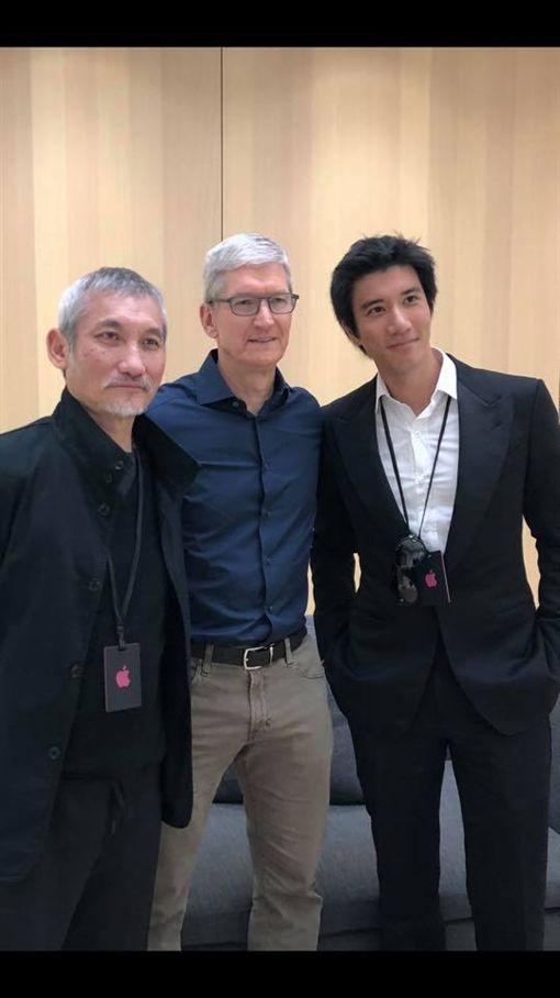 王力宏受邀出席蘋果新品發表會/翻攝自臉書