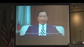 吳釗燮:沒有台灣問題 只有中國問題外交部長吳釗燮美東時間12日以視訊在全球台灣研究中心年度論壇說,沒有所謂「台灣問題」,只有「中國問題」。中國在政治、外交、軍事與經濟領域脅迫台灣,並利用經濟作為籌碼,在全球尋求不正當政治影響力。中央社記者江今葉華盛頓攝  107年9月13日