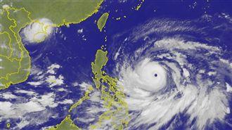 山竹平均風力 奪台日美今年最強颱風