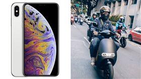 新iPhone最貴破5.2萬 可買一台電動機車 圖翻攝自蘋果官網、Gogoro Taiwan臉書
